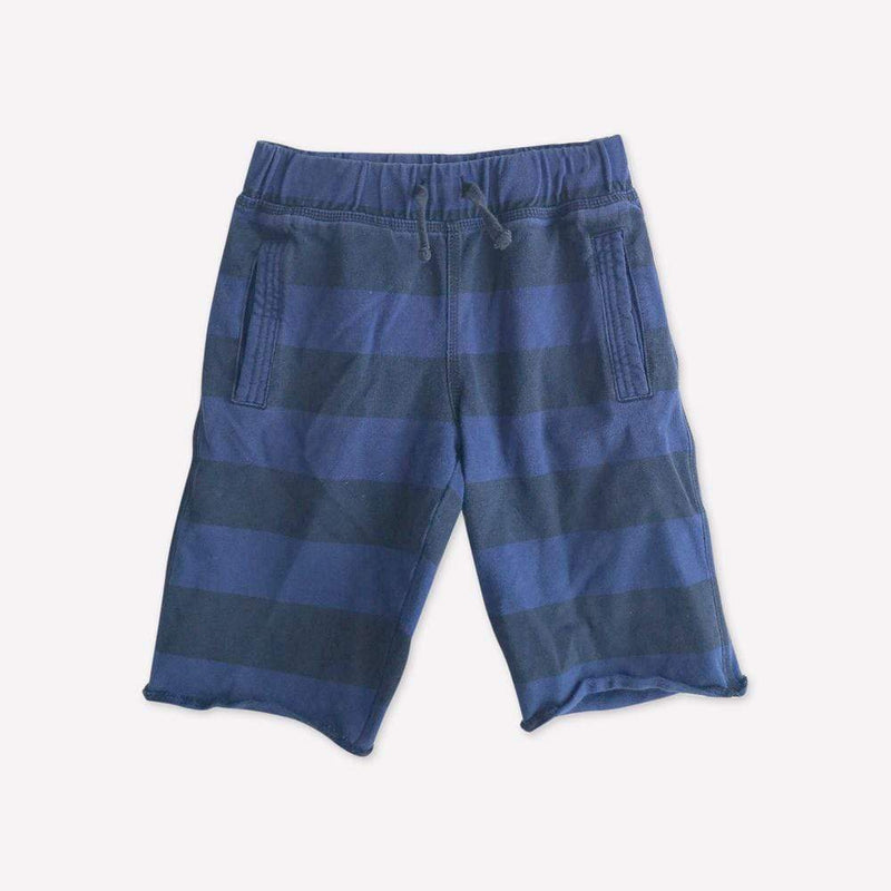 Tea Shorts 7y / Preloved Re-Cycle Blue Plaid Shorts