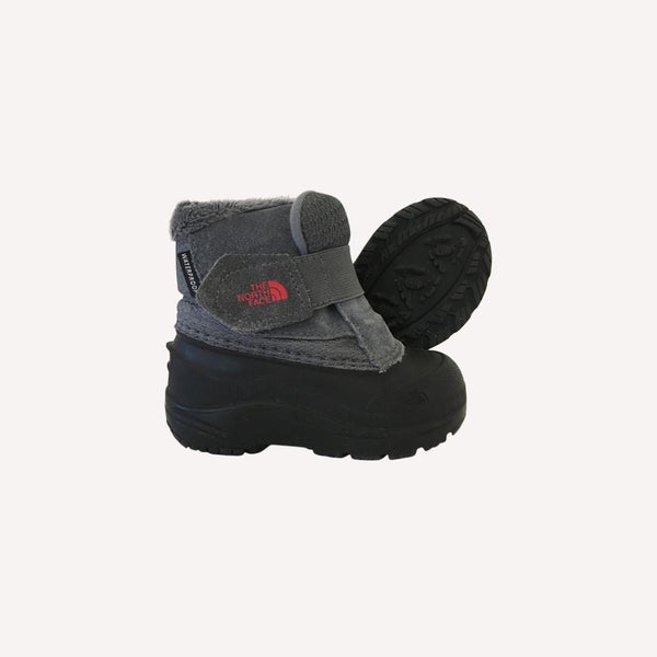 The North Face Boots US 6 / Like New Re-Cycle Appenglow II Boots Black and Grey