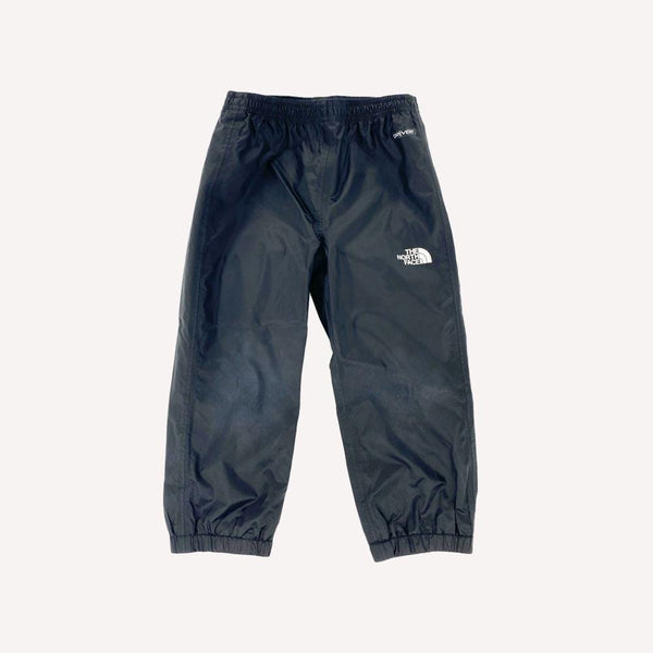 The North Face Rainpants 2T / Like New Re-Cycle Solid Black Rainpants