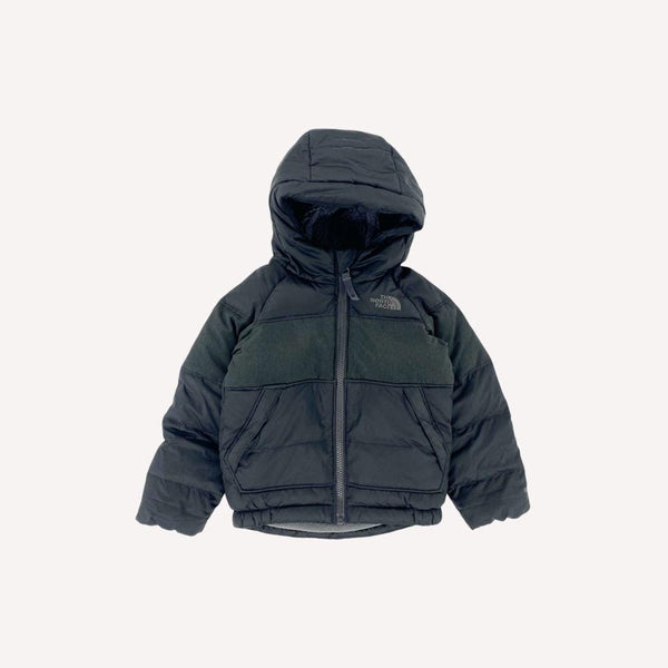 The North Face Winter Coat 3T / Preloved Re-Cycle Solid Black Winter Coat