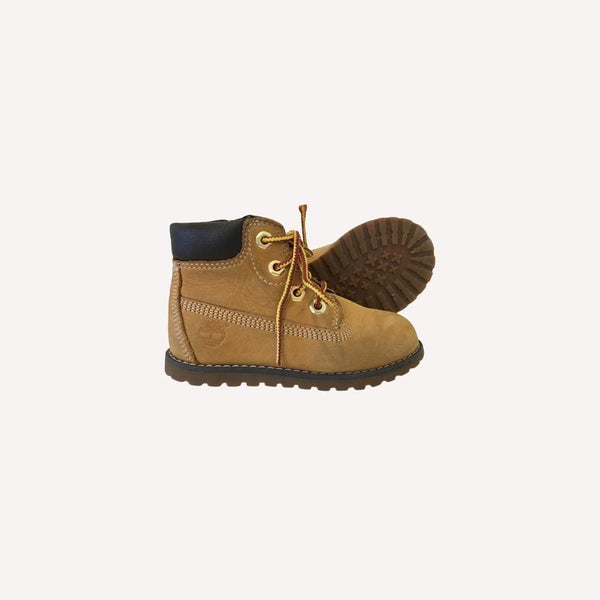 Timberlands Boots US 7 / Preloved Re-Cycle Solid Beige Boots