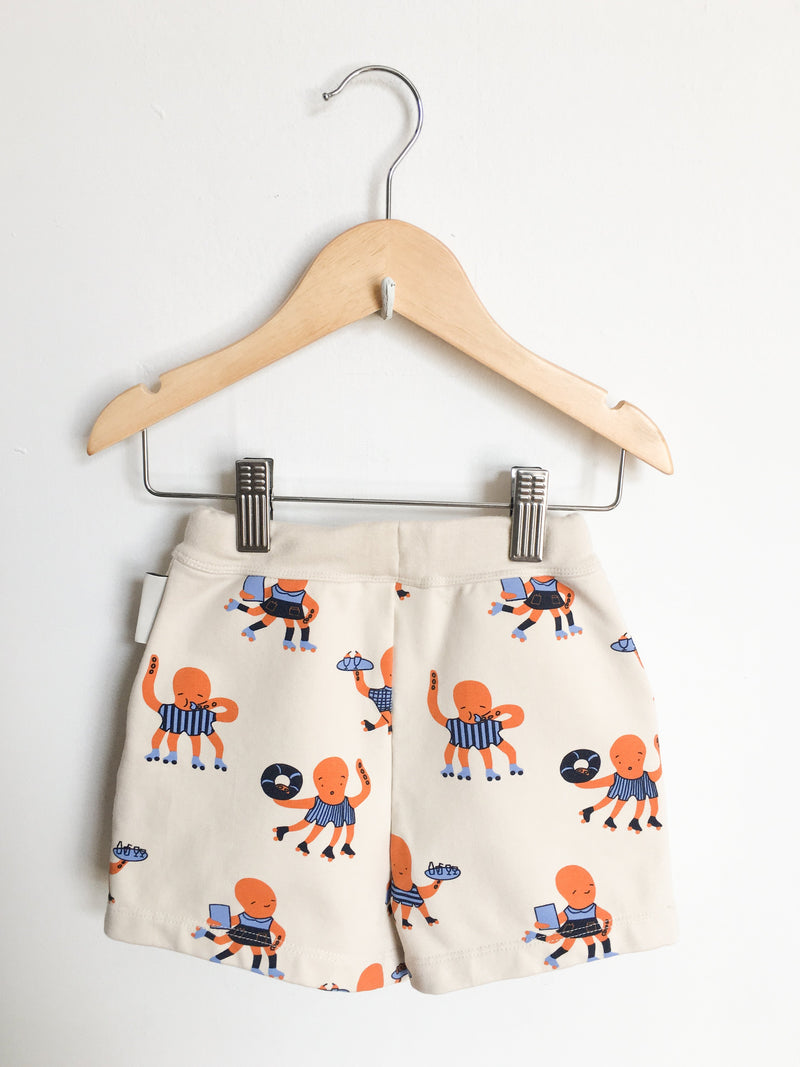 Tinycottons Bottoms 2y / Gently Used Re-Cycle Octopus Shorts