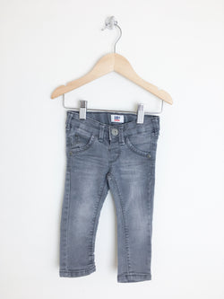 Tumble n' dry Bottoms 9-12m / Gently Used Re-Cycle Grey Baby Jeans