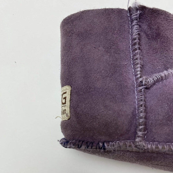 Ugg Booties US 5 / Preloved Re-Cycle Purple Sherpa Booties