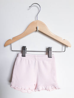 United Colors of Benetton Shorts 3-6m / Gently Used Re-Cycle Light Pink Ruffle Baby Shorts