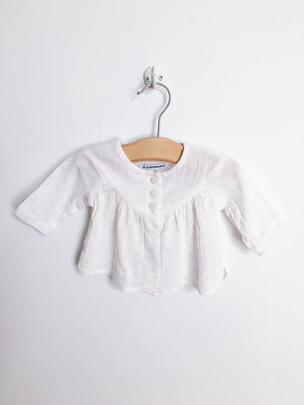 Vertbaudet Shirts 1m / Gently Used Re-Cycle Light Pink Blouse