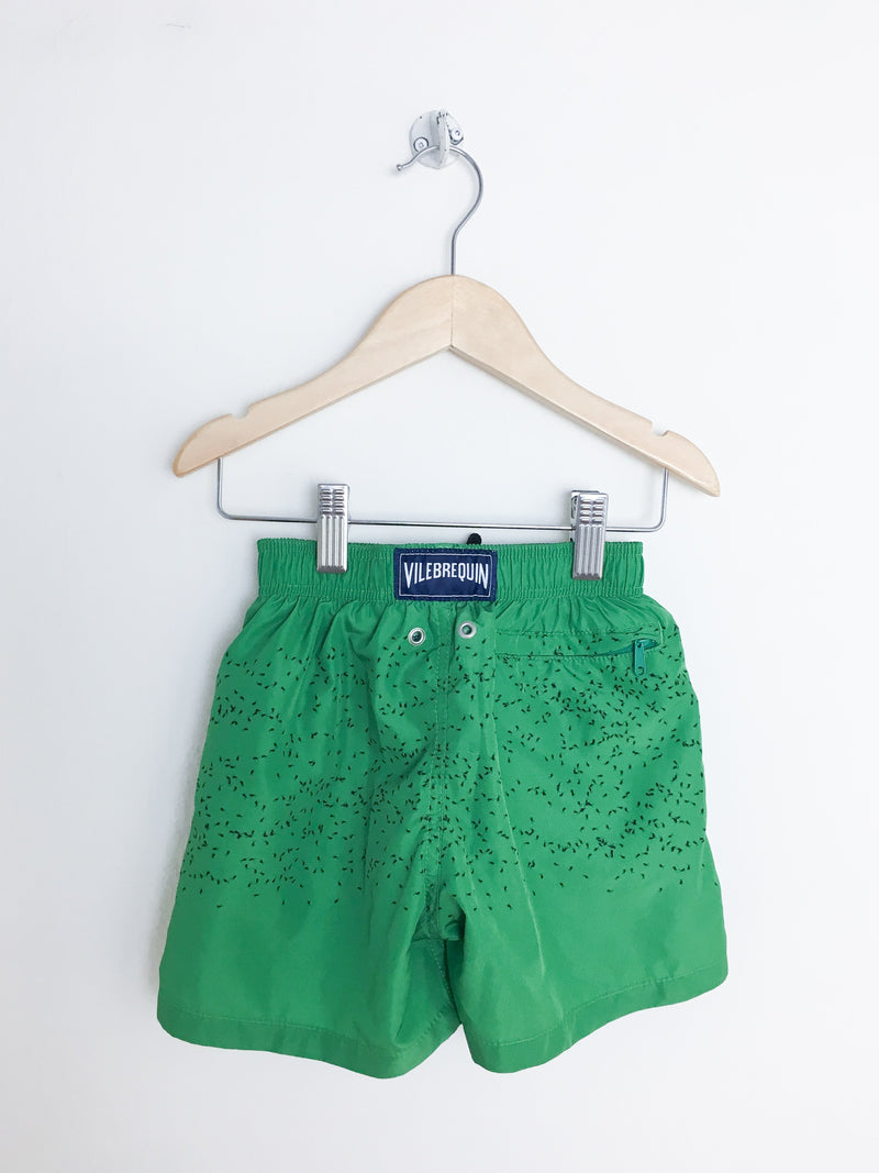 Vilebrequin Swimwear 4y / Gently Used Re-Cycle Green Ant Swim Trunks