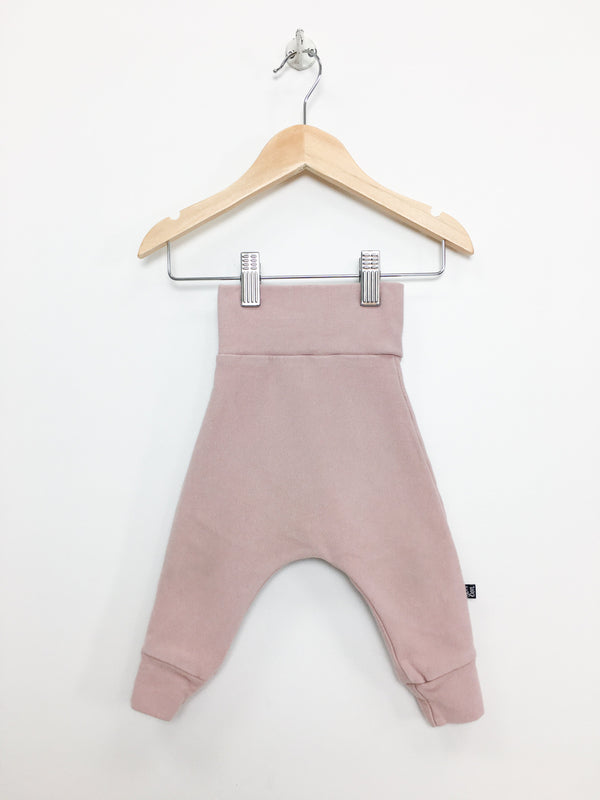 Vonbon Pants 3-6m / Gently Used Re-Cycle Light Pink Baby Harem Pants