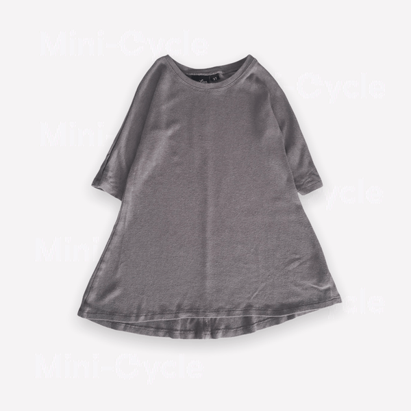 Vonbon Tunic 3T / Preloved Re-Cycle Solid Grey Tunic