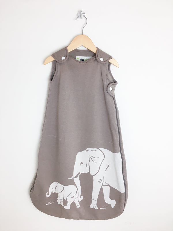Wee Urban Sleepsack 0-6m / Gently Used Re-Cycle Elephant Baby Sleepsack
