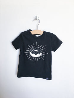 Whistle & Flute Tops + Bodysuits 2T / Gently Used Re-Cycle Donut T-Shirt