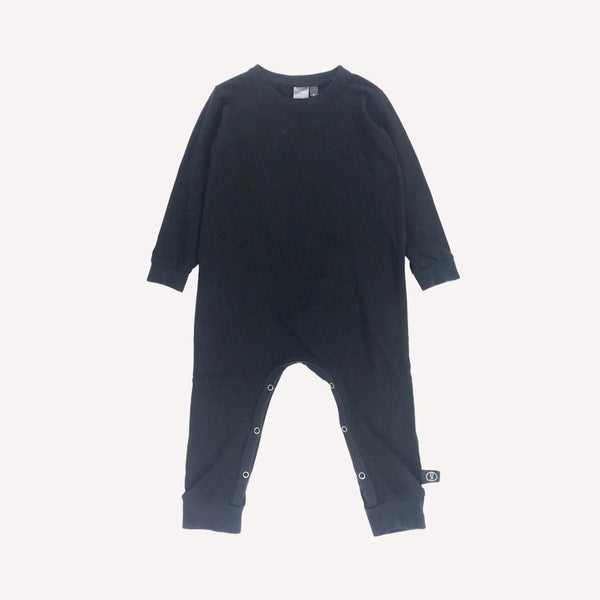 Wooly doodle Romper 3T / Like New Re-Cycle Solid Black Romper