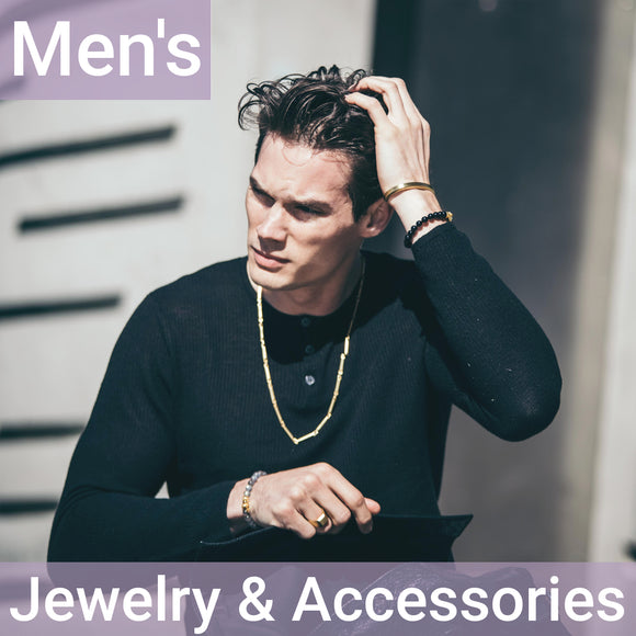 Men's Jewelry & Accessories