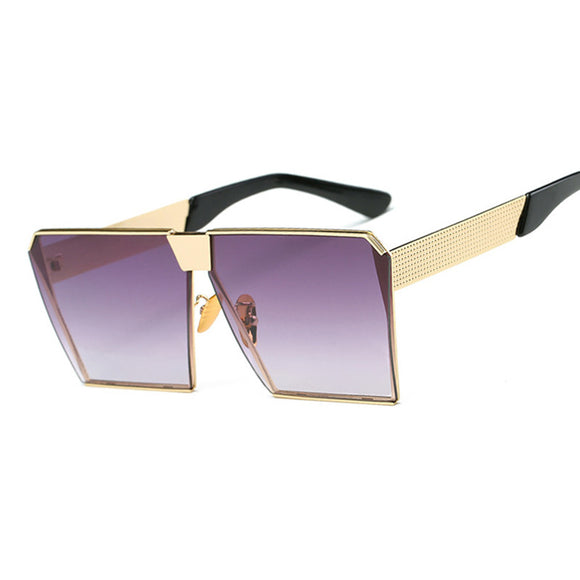 Ladies Steampunk Square Sunglasses