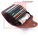 Leather Cash & Card Wallet