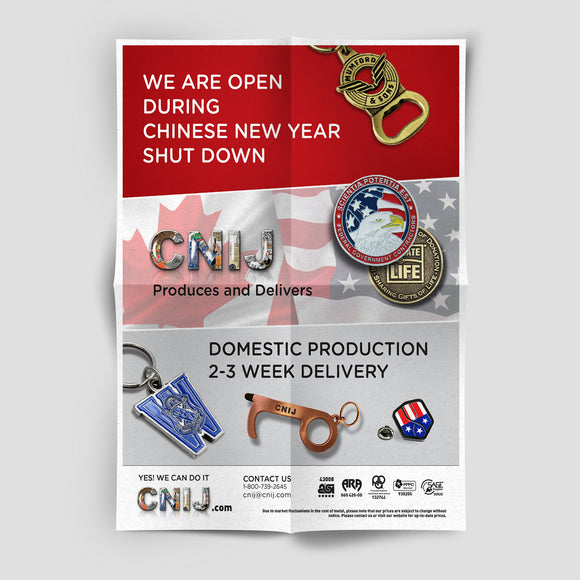 CNIJ Domestic 2-3 Weeks Flyer