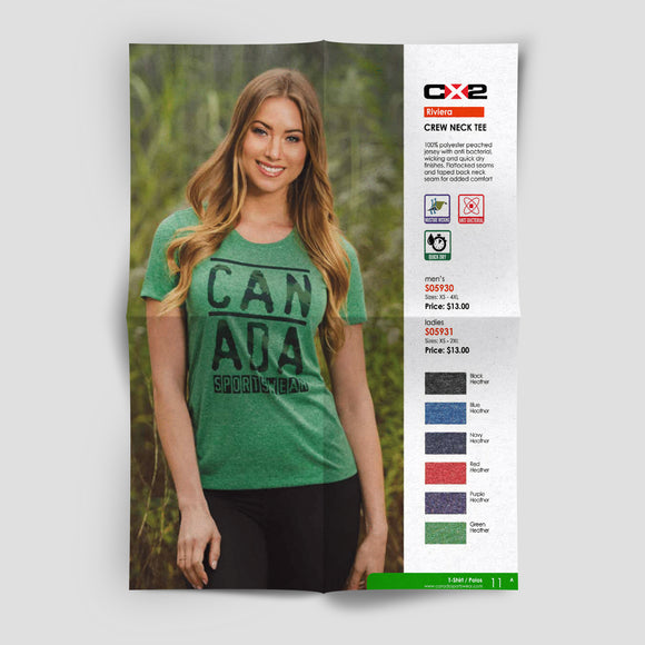 Canada Sportswear has T-Shirt Power!