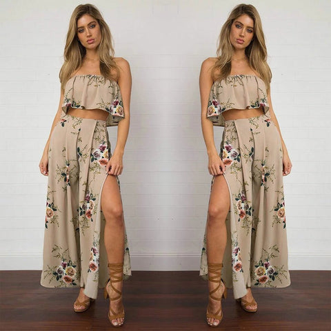 Chiffon Two Piece Sets