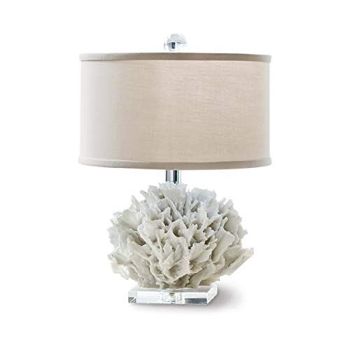 Regina Andrew Natural Ribbon Coral Mini Decorative Table Lamp
