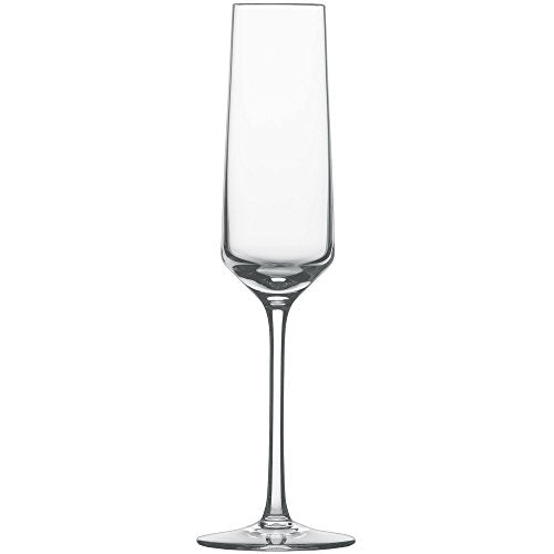 Schott Zwiesel Tritan Crystal Glass Pure Stemware Collection Champagne Flute , Set of 6
