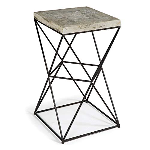 "Regina Andrew Isosceles 26-1/2"" High Raw Side Sofa Table"