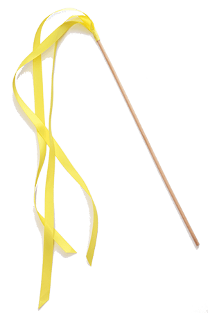 Ribbon Wands - Lemon