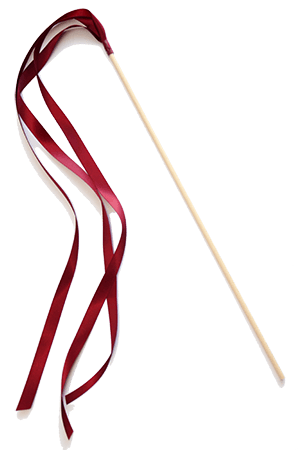 Ribbon Wands - Wine