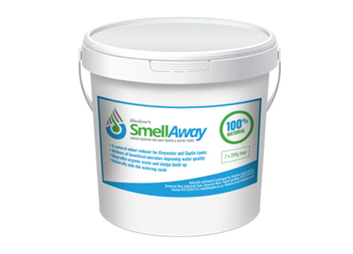SMELL AWAY ODOUR REDUCER FOR GREY WATER AND SEPTIC TANKS