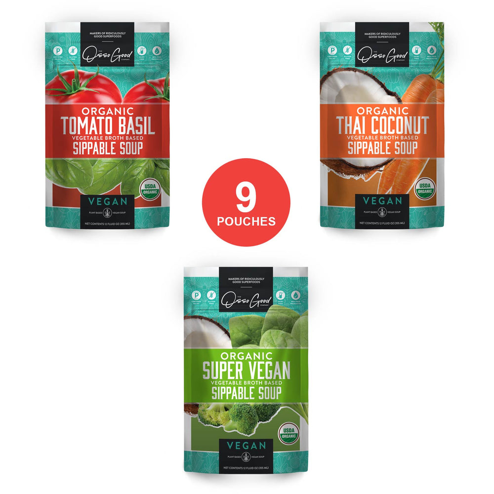 Vegan Organic Soup Sampler