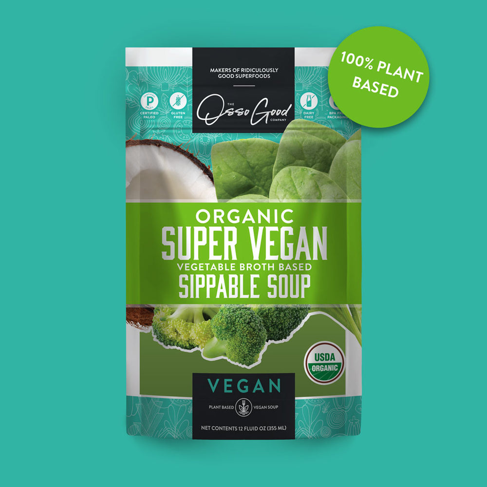 Vegan Organic Super Vegan Soup