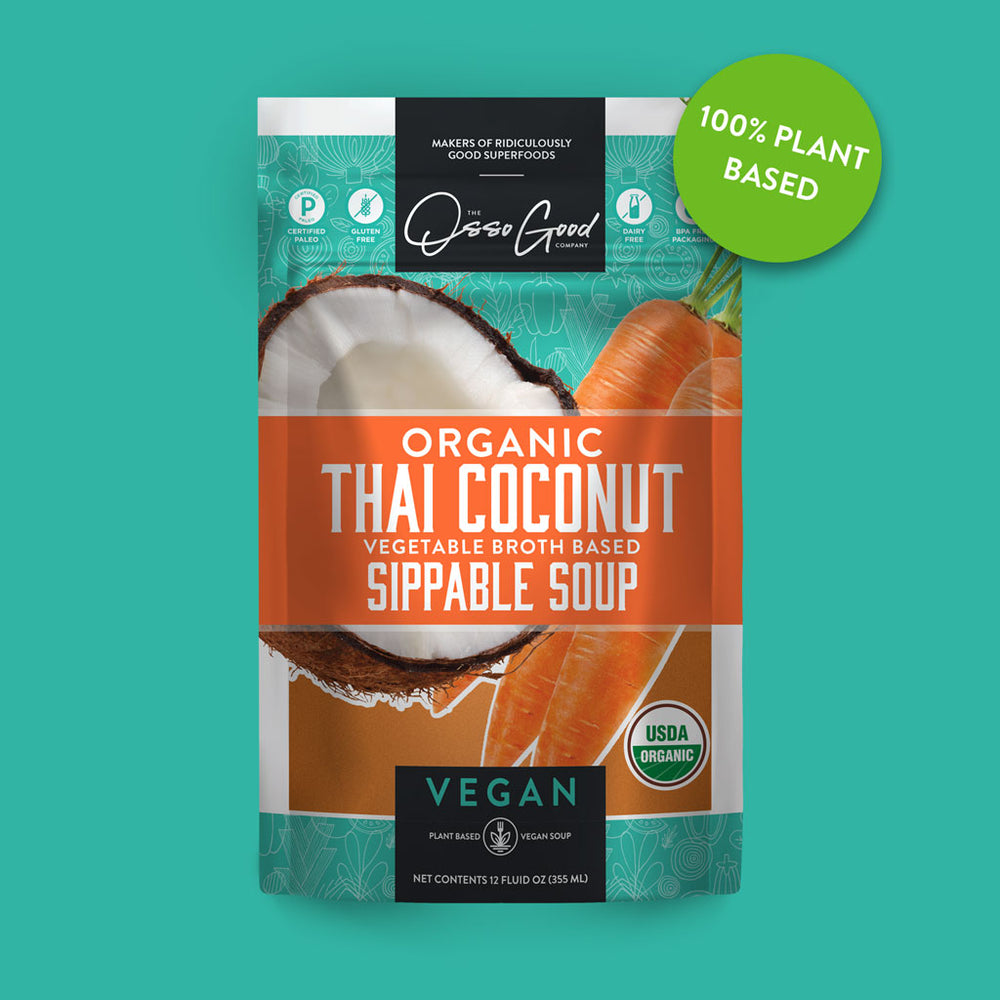 Vegan Organic Thai Coconut Soup