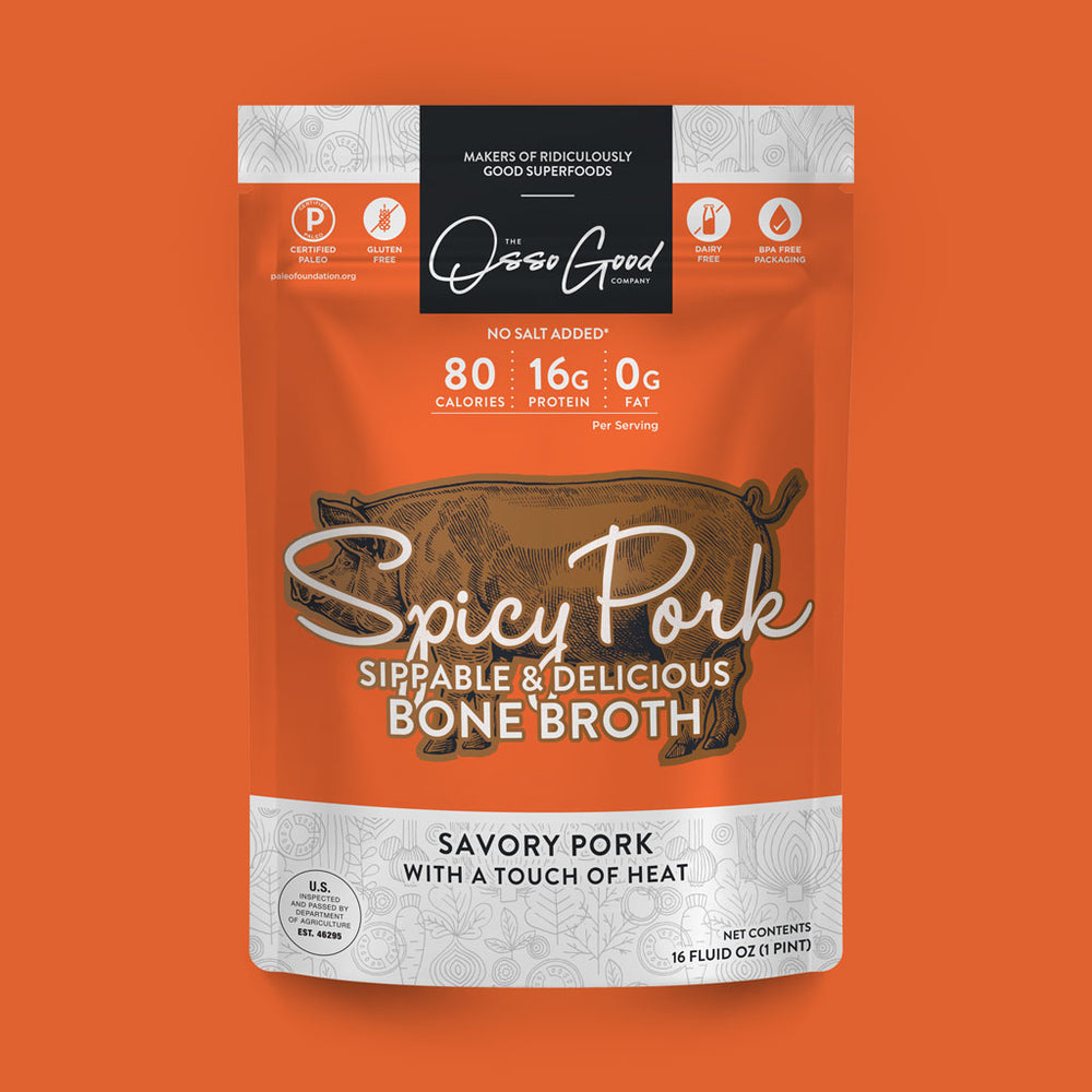 Multi-Pack Spicy Pork Bone Broth