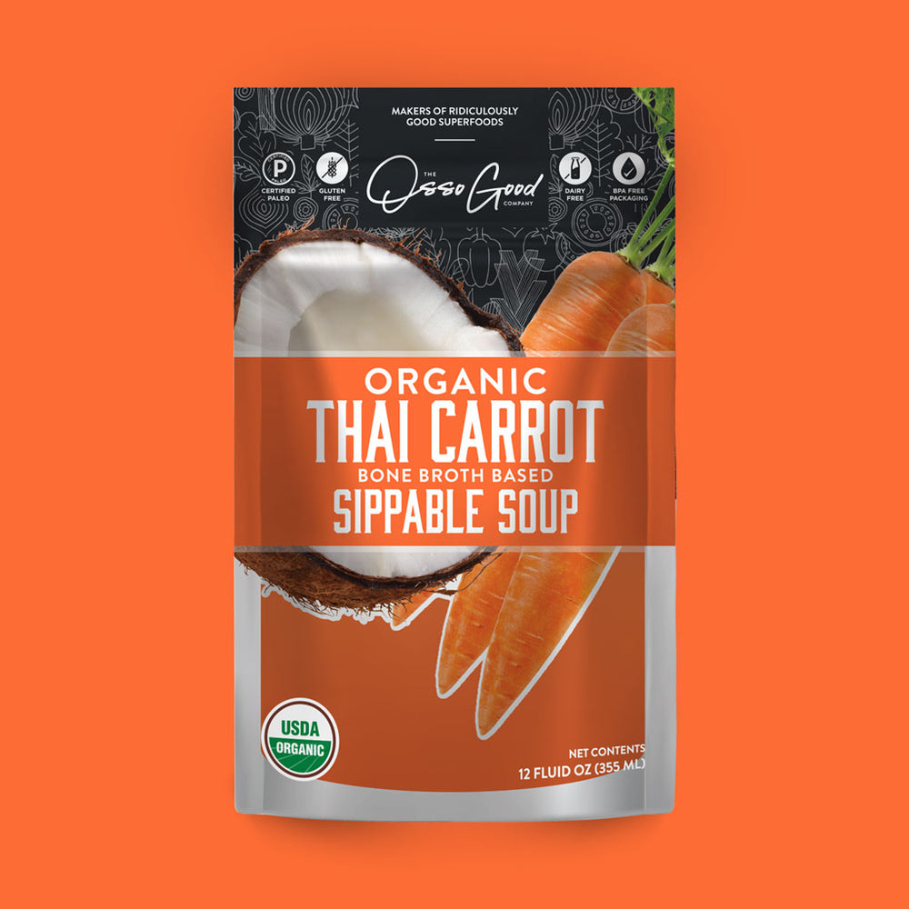 Organic Thai Carrot Soup