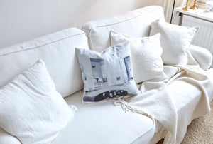 Living room pillow cover