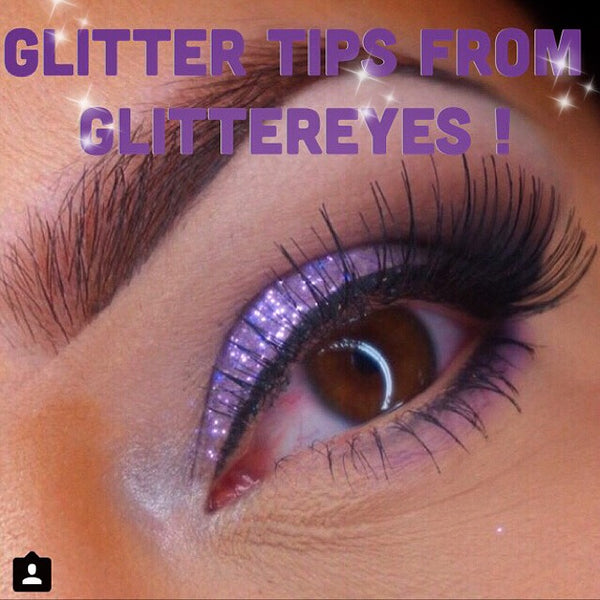 The Secret to Flawless Glitter Application