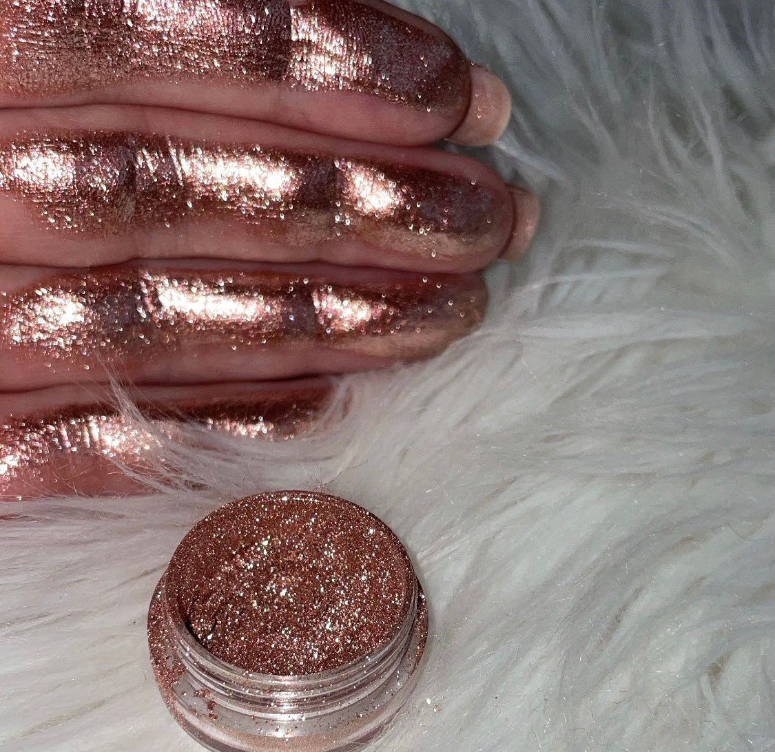 ROSE CARAMEL - DIAMOND DUST SPARKLING PIGMENT