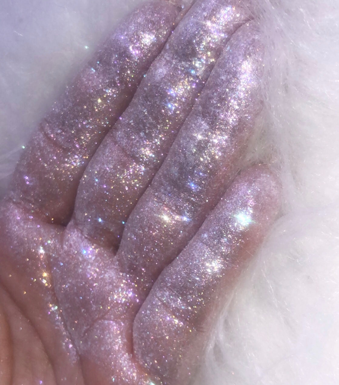 Angels Wings -  loose sparkle pastel rainbow pigment
