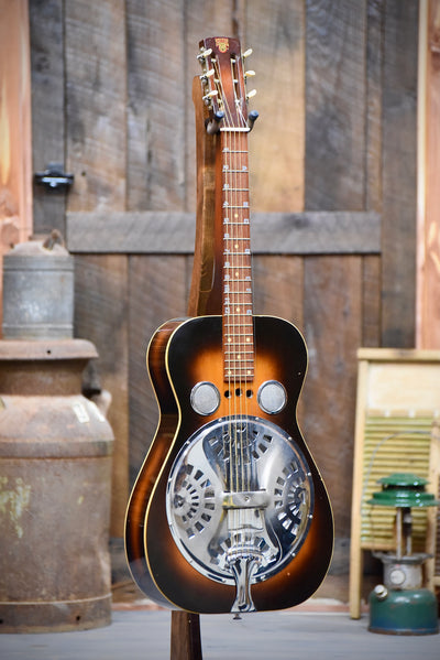 Pre-Owned 1970's Dobro Resonator Guitar With Case