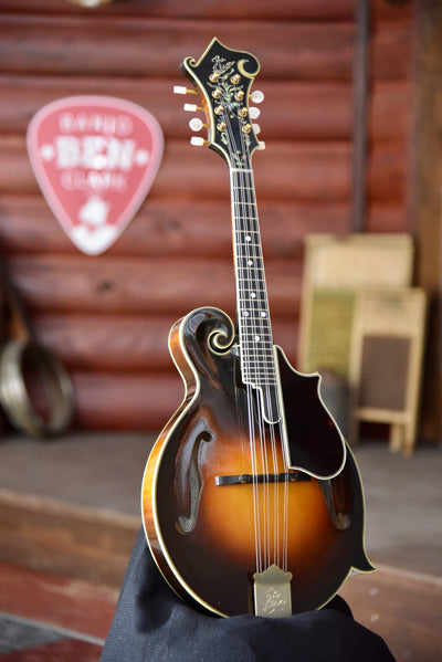 "2001 Gibson F-5L ""The Fern"" Radiused Fingerboard F-Style Mandolin With Case"