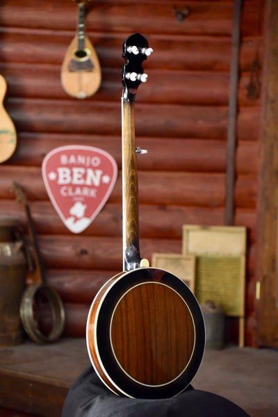 Gold Tone BG-250FW Mahogany Wide-Nut 5-String Bluegrass Banjo
