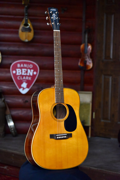 Blueridge BR-60-LE Limited Edition Acoustic Dreadnaught Guitar With Case