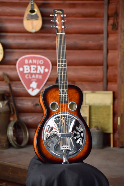 Beard Vintage R Model Squareneck Resonator Guitar With Case