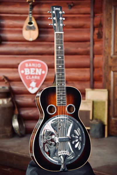 Pre-Owned Beard R Model Square Neck Resonator Guitar With Case