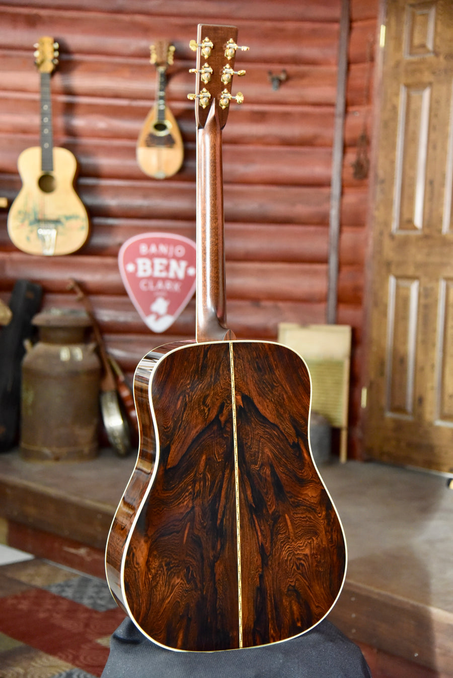 Pre-Owned Bourgeois Limited Edition Bryan Sutton Model Brazilian Rosewood Adirondack Guitar With Case