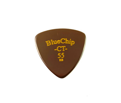 BlueChip CT55 Chris Thile Flat Pick - Round Beveled