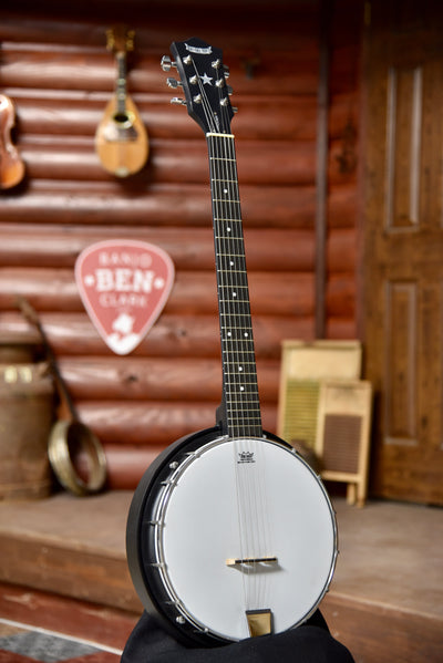 Morgan Monroe Rocky Top RT-MB6 6-String Banjitar (Guitar Banjo)