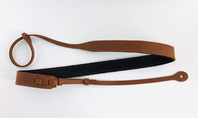 El Dorado Leather Mandolin Strap (Black or Brown)