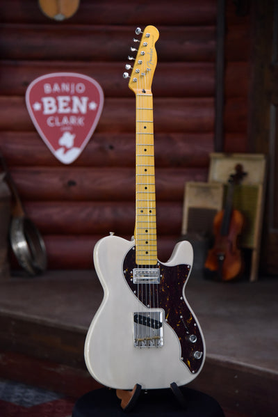 Used Fender Short Scale Telecaster Electric Guitar With Case