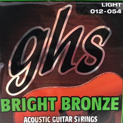 GHS Bright Bronze Light Acoustic Guitar Strings