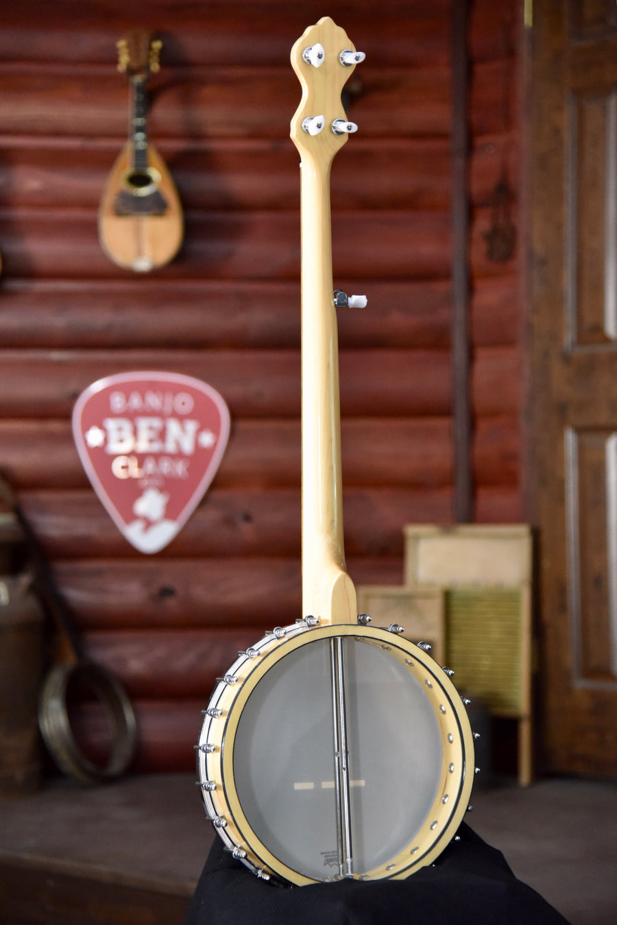 Bundle Deal - Gold Tone MM-150 Maple Mountain Openback 5-String Banjo With White Ladye Tone Ring